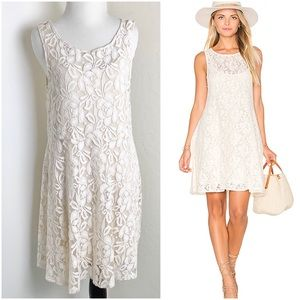 Free People Sleeveless Lace Slip Dress